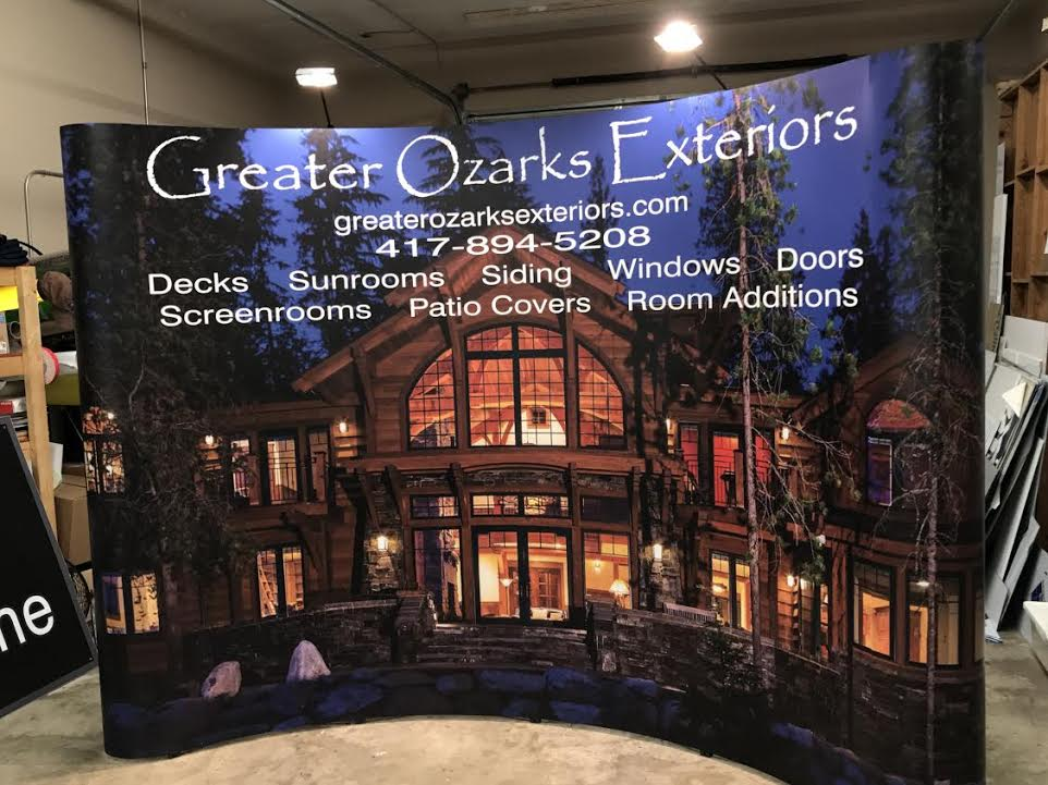 Greater Ozarks Trade Show Display