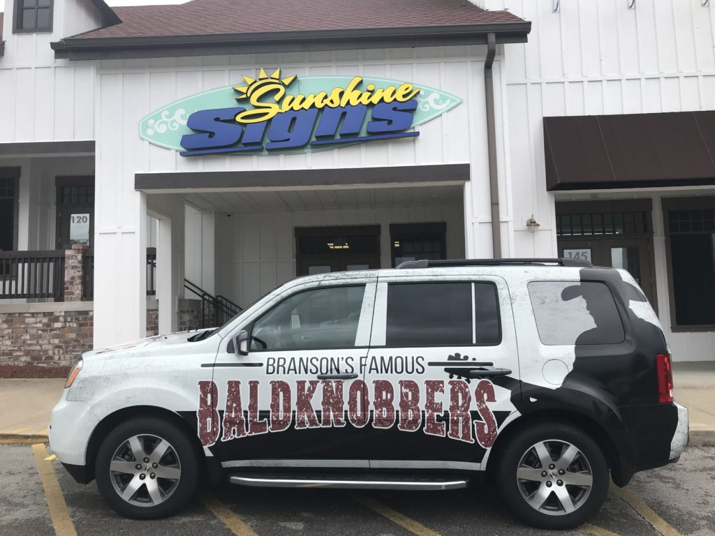 The Branson Famous Baldknobbers are Driving Around in Style