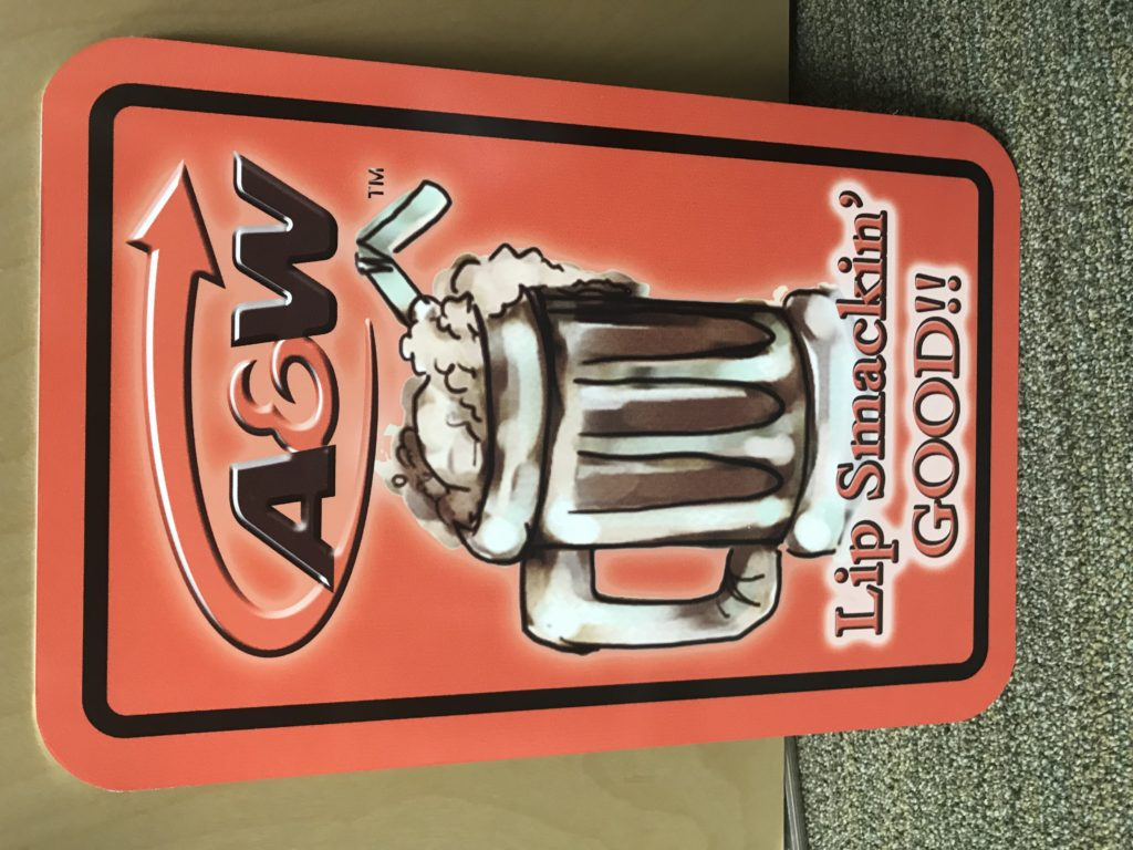 Rootbeer Sign