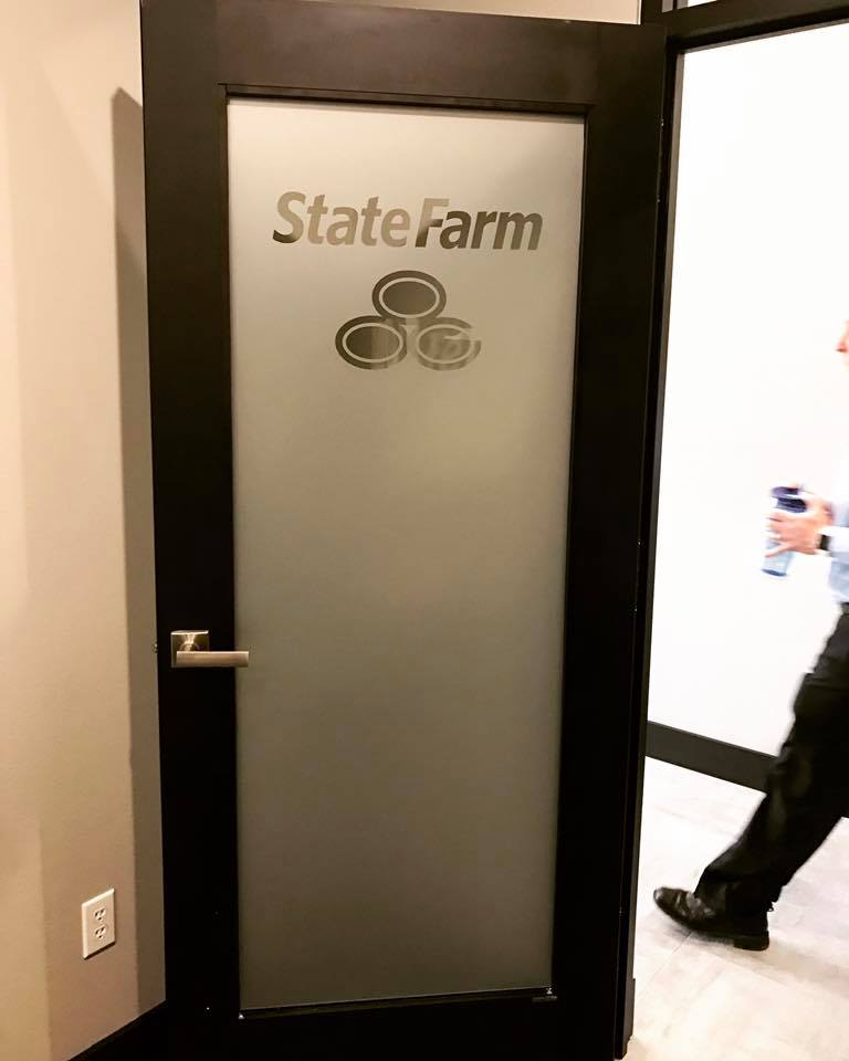State Farm Etched