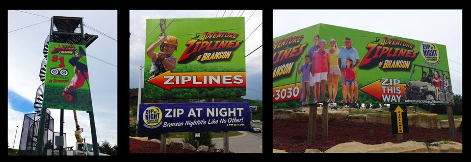 Zipline Billboard